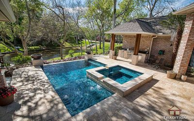 Backyard Retreat in Weston Lakes, Fulshear