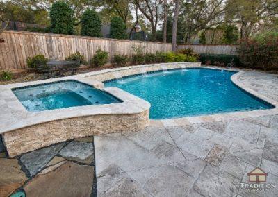 Custom Inground pool memorial