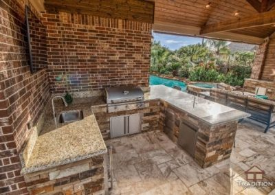 Cinco Ranch_Covered Patio_Outdoor Kitchen