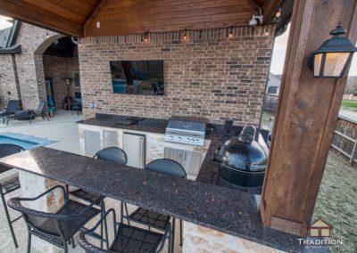 Fulshear_Custom Outdoor Kitchen