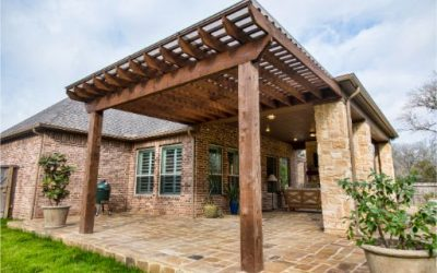 Covered Patio and Pergola in Fulshear