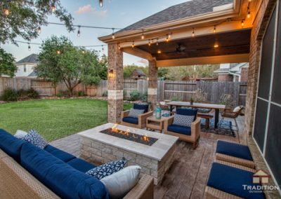 Sugarland Patio Cover Fire Pit