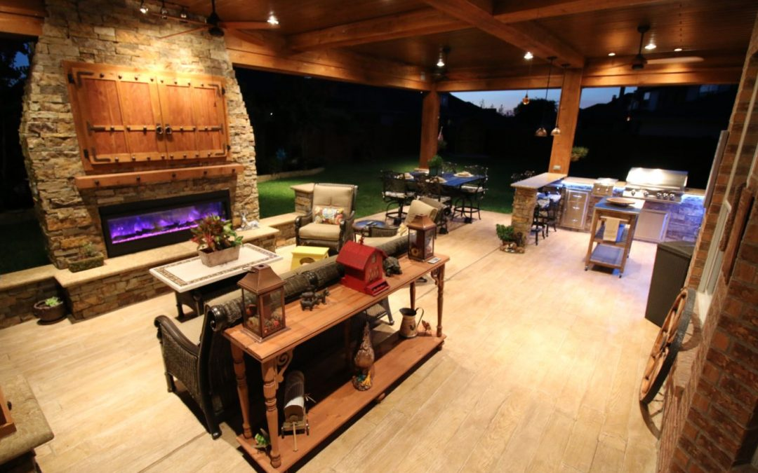Outdoor Living and Grilling in Katy