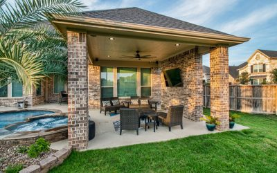 Attached Patio Cover in Katy