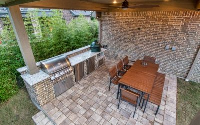Katy Patio Cover Addition with Outdoor Kitchen