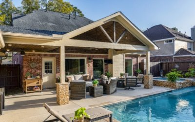 Gable Patio Cover in Katy